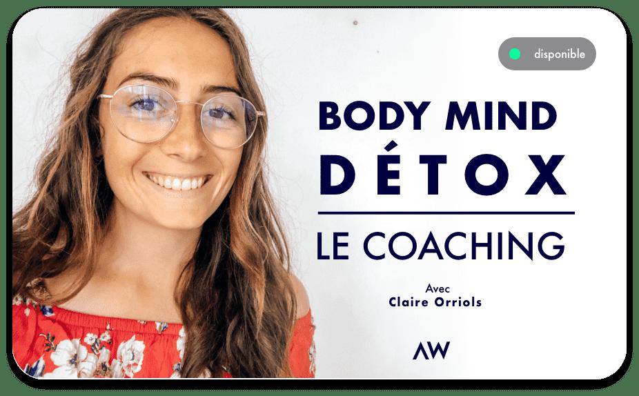 Coaching programme body mind détox disponible